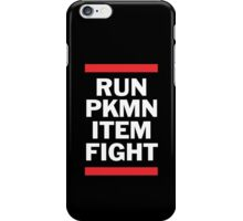 RUN PKMN iPhone Case/Skin