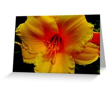 Yellow Cheer Right Here Greeting Card