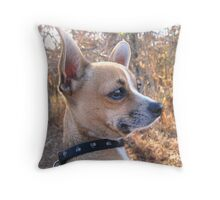 Pondering.... Throw Pillow