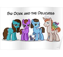 Sir Dork and the Delicates Poster