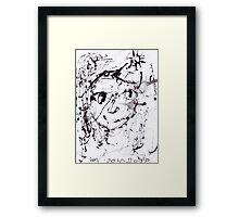 Sunshower Framed Print