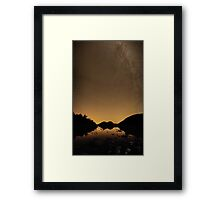 Stars Over The Bubbles – Acadia National Park, Maine Framed Print