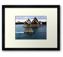 Sirius Passing By Framed Print