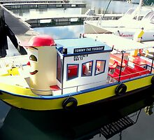 Tommy The Tugboat  ~  Cape Town Harbour by Pieta Pieterse