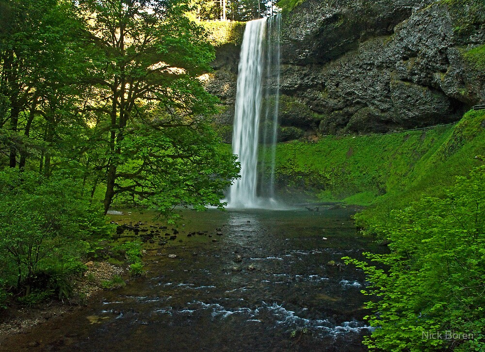 Silver Falls State Park... South Falls by Nick Boren