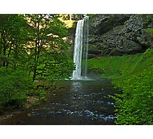 Silver Falls State Park... South Falls Photographic Print