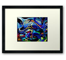 Orpheus and Eurydike Framed Print