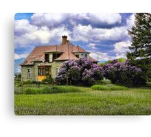 Plains Pioneer Home Canvas Print