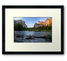 Yosemite's Valley View Framed Print