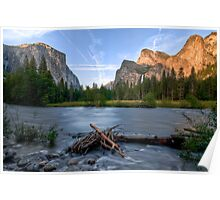 Yosemite's Valley View Poster