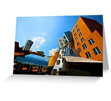 Stata Center Greeting Card