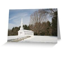 Martha Mary Church Greeting Card