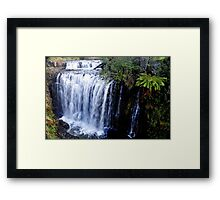 Tas, Guild Falls, Burnie Framed Print