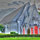 Little Church in Hollis-side view full by henuly1