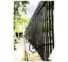 Iron Fence Poster
