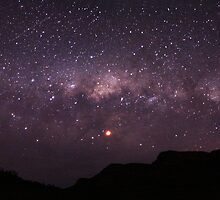 Panoramic Galaxy Views During the June 2011 Lunar Eclipse by pablosvista2