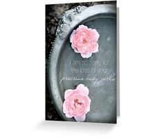 Loss of Precious Girls Greeting Card