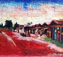 Old Red Sand Market by Eddy Aigbe