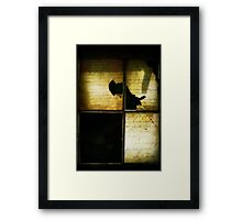 Maybe It's The Things We Don't Say Framed Print