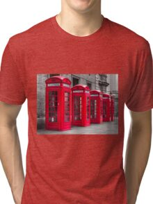 Telephone booths Tri-blend T-Shirt
