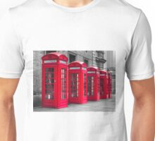 Telephone booths Unisex T-Shirt