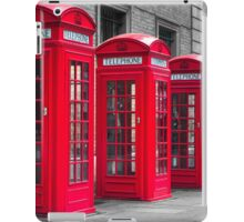 Telephone booths iPad Case/Skin