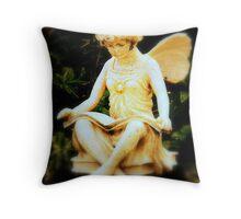 Fairy tale educated Throw Pillow
