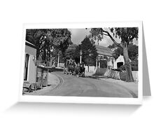 Sovereign Hill Street Scene Greeting Card