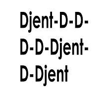 Funny Djent Music Design Photographic Print
