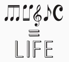 Music is life  One Piece - Long Sleeve