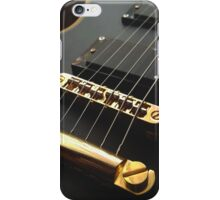 Black Guitar iPhone Case/Skin