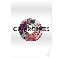 CHVRCHES - Every Open Eye Logo Poster
