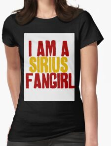 I Am a Sirius Fangirl Womens Fitted T-Shirt