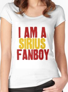 I Am a Sirius Fanboy Women's Fitted Scoop T-Shirt