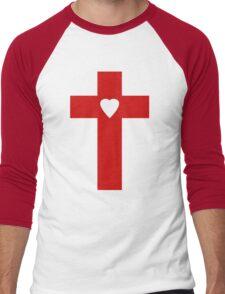 Judas Cross Men's Baseball ¾ T-Shirt