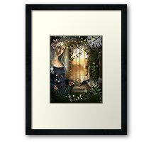 And when the stars have all burnt out.... Framed Print
