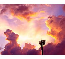 Tower in the Sky Photographic Print