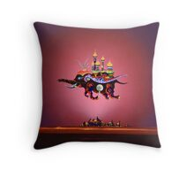 Adamus Schnuller - Chief Castle Merchant Throw Pillow