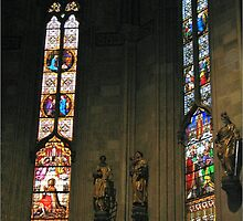 Cathedral windows by machka