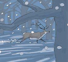 Winter by David  Kennett