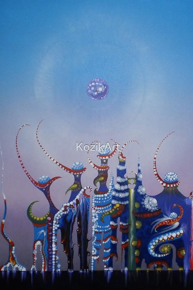 CASTLE YVIEANNA  by Rainer Kozik