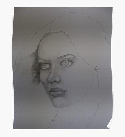 Sketch for Elaine Poster