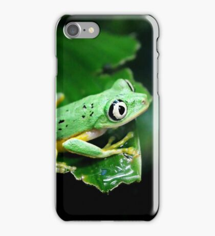 Watching from behind the glass iPhone Case/Skin