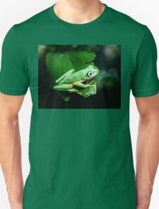 Watching from behind the glass Unisex T-Shirt