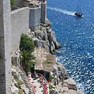 Dubrovnik wall by machka