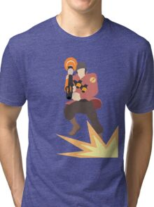 TF2 - RED Rocket Jump  Tri-blend T-Shirt