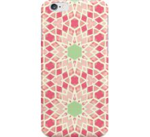 Pink & Green Mosaic Pattern iPhone Case/Skin