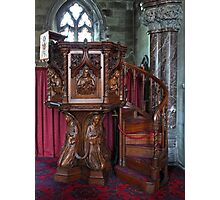 The Pulpit at Bodelwyddan Photographic Print