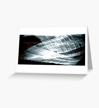Lace, Blood, Bandages Greeting Card