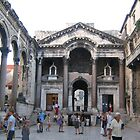Diocletian palace in Split. by machka